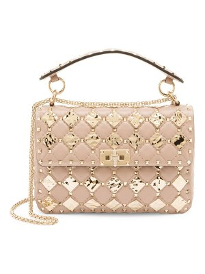 Valentino medium rockstud spike leather shoulder bag