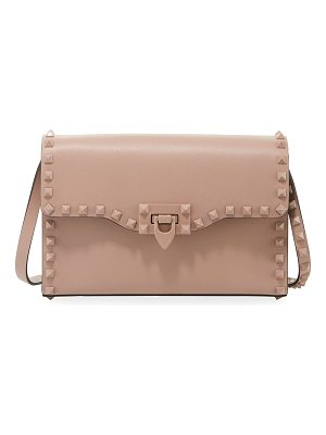 Valentino Monochrome Rockstud Medium Shoulder Bag