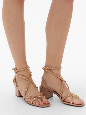 Valentino rockstud flair leather sandals