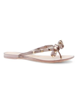 Valentino rockstud jelly thong