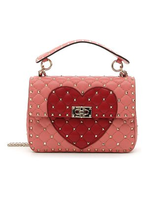 Valentino rockstud heart shoulder bag
