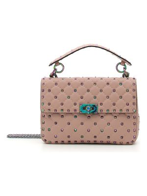 Valentino rockstud lambskin leather shoulder bag