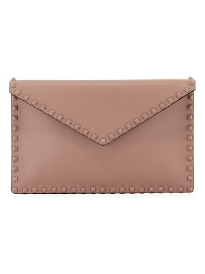 Valentino Rockstud Large Flat Pouch Bag