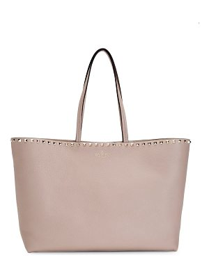 Valentino rockstud leather shopper