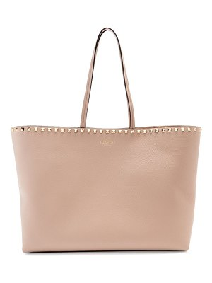 Valentino rockstud leather tote bag