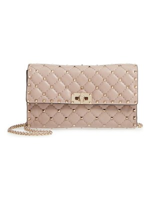 Valentino rockstud matelasse quilted leather shoulder bag