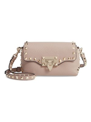 Valentino rockstud mini calfskin leather crossbody