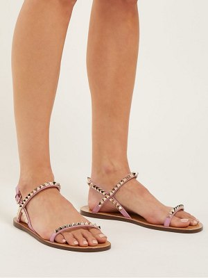 Valentino rockstud no limit leather sandals