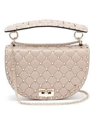 Valentino Rockstud Quilted Leather Cross Body Bag