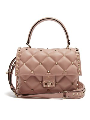 Valentino candystud quilted leather shoulder bag