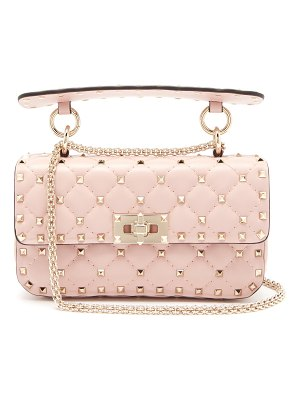 Valentino Rockstud Spike quilted-leather bag