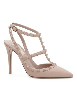 Valentino tonal rockstud point toe heels