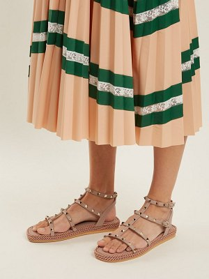 Valentino Torchon Rockstud Leather Sandals