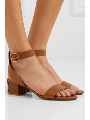 Valentino valentino garavani go logo 45 leather sandals