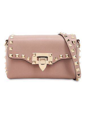 Valentino Stud embellished leather shoulder bag