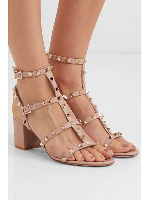 Valentino valentino garavani the rockstud 55 leather sandals