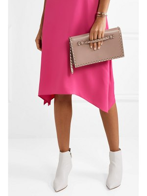 Valentino valentino garavani the rockstud leather clutch