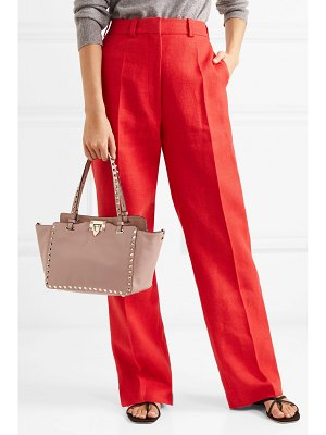 Valentino valentino garavani the rockstud leather trapeze bag