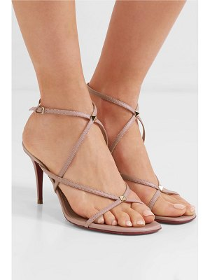 Valentino valentino garavani the rockstud nude 80 leather sandals