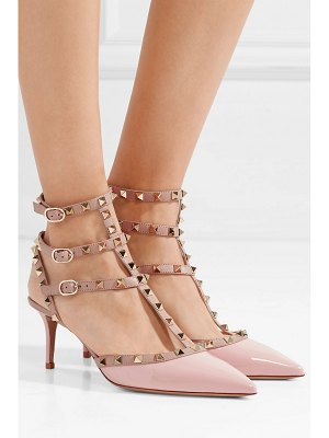 Valentino valentino garavani the rockstud patent-leather pumps