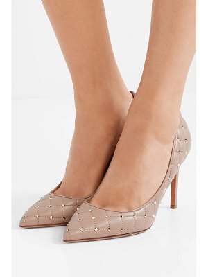 Valentino valentino garavani the rockstud quilted leather pumps