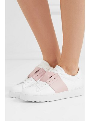Valentino valentino garavani open two-tone leather sneakers