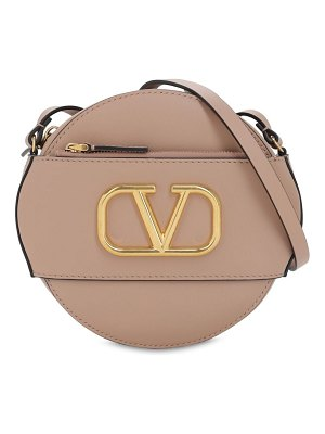 Valentino Vlogo leather circle bag