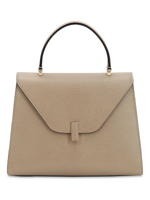 Valextra Large iside grain leather bag