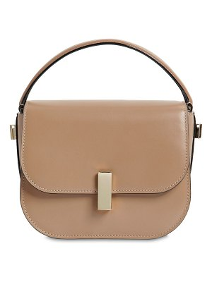 Valextra Mini iside brushed leather crossbody bag