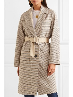 Vanessa Bruno iambo belted cotton-tweed coat