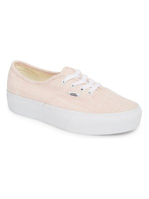 Vans authentic 2.0 platform sneaker