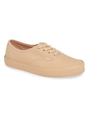 Vans authentic leather sneaker