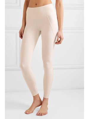 Varley cedar scalloped stretch leggings