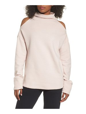 VARLEY Hampton Cold Shoulder Sweatshirt