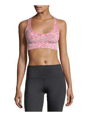 Varley Pavilion Racerback Printed Performance Sports Bra