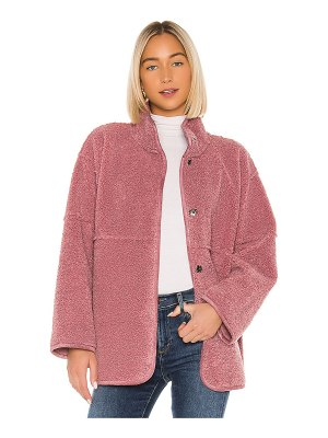 Velvet by Graham & Spencer albany lux faux sherpa jacket