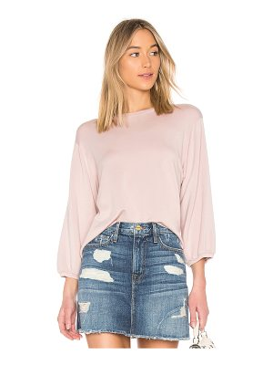 VELVET BY GRAHAM & SPENCER Ember Fleece Top