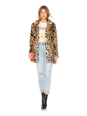 Velvet by Graham & Spencer Juliana Faux Fur Jacket