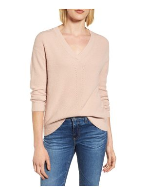 VELVET BY GRAHAM & SPENCER V-Neck Sweater
