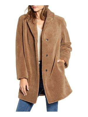 Velvet by Graham & Spencer velvet by grahan & spencer lux faux shearling coat