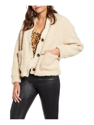 Vero Moda annika short teddy jacket