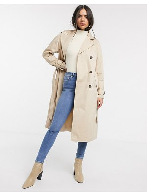 Vero Moda classic trench coat in beige