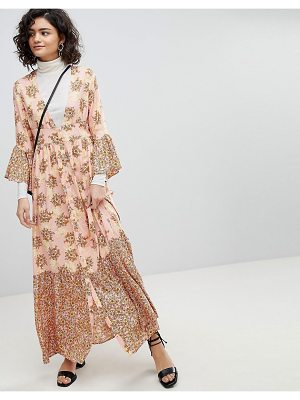 Vero Moda Floral Ruffle Maxi Dress