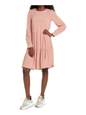 Vero Moda girlie tiered long sleeve dress