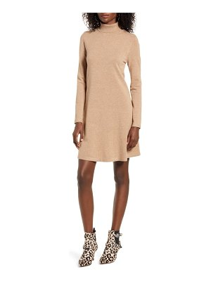 Vero Moda happy roll neck long sleeve a-line sweater dress