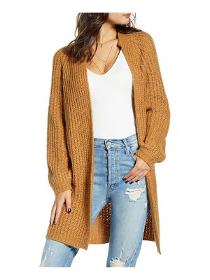 Vero Moda poca open front sweater coat