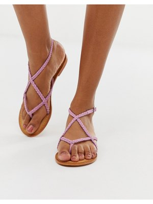 Vero Moda strappy betweeen the toe sandals