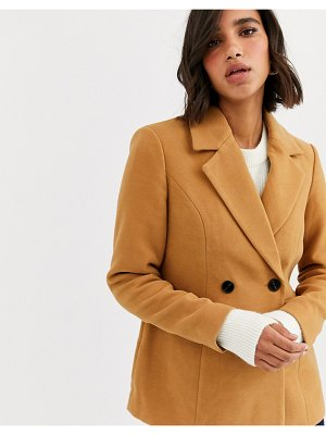 Vero Moda tailored jacket in beige