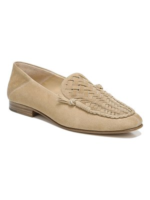 Veronica Beard Anica Woven Suede Loafers