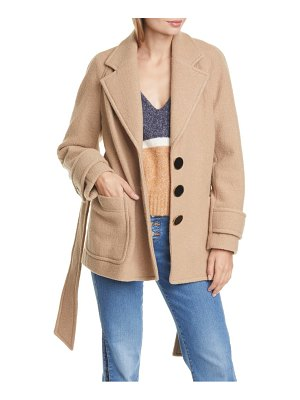Veronica Beard bjorn belted wool coat
